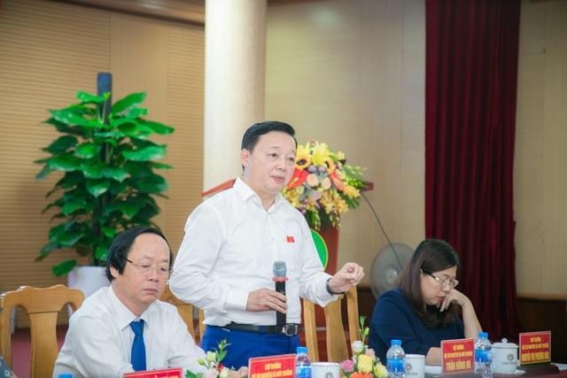 """Bộ Tài nguyên và Môi trường """"đặt hàng"""" đề tài nghiên cứu với Học viện Nông nghiệp Việt Nam - 1"""