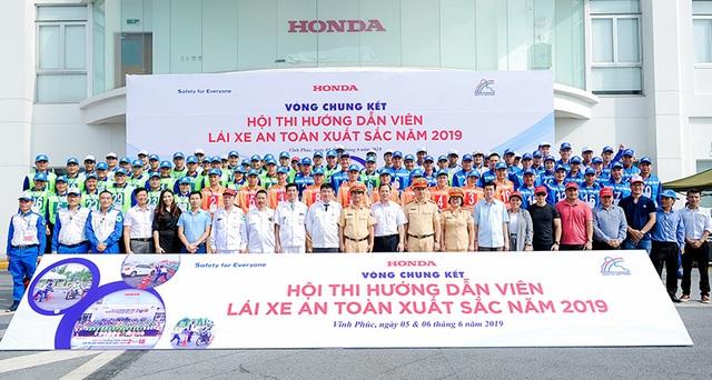Honda đẩy mạnh công tác hướng dẫn lái xe an toàn - 1