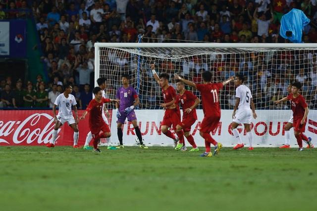 U23 Việt Nam 2-0 U23 Myanmar: Việt Hưng, Tiến Linh lập công - 15