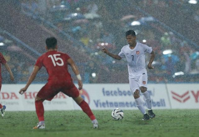 U23 Việt Nam 2-0 U23 Myanmar: Việt Hưng, Tiến Linh lập công - 11