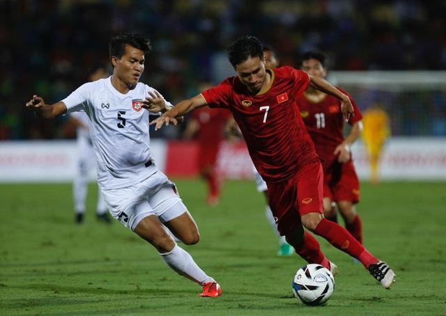 U23 Việt Nam 2-0 U23 Myanmar: Việt Hưng, Tiến Linh lập công - 1