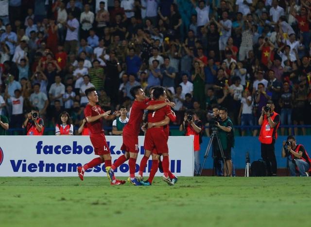 U23 Việt Nam 2-0 U23 Myanmar: Việt Hưng, Tiến Linh lập công - 17