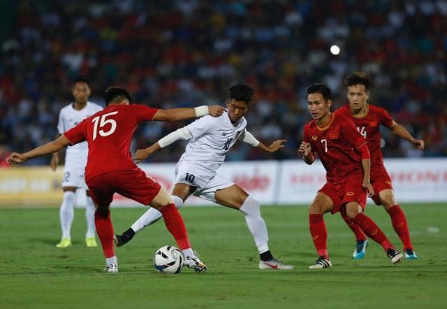 U23 Việt Nam 2-0 U23 Myanmar: Việt Hưng, Tiến Linh lập công - 14