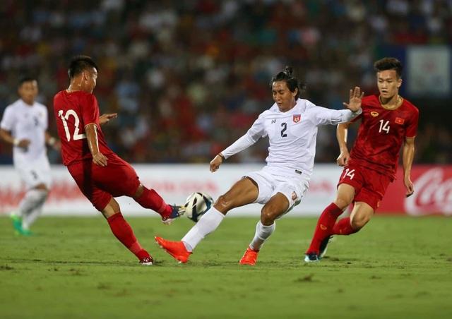 U23 Việt Nam 2-0 U23 Myanmar: Việt Hưng, Tiến Linh lập công - 8