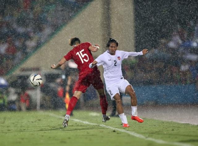 U23 Việt Nam 2-0 U23 Myanmar: Việt Hưng, Tiến Linh lập công - 9