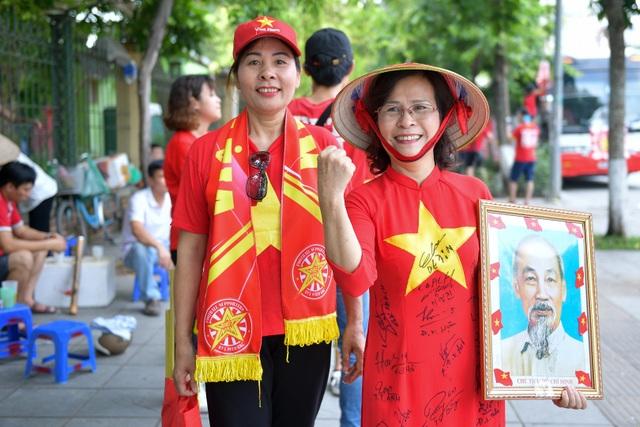 CĐV Hà Nội lên Phú Thọ cổ vũ cho U23 Việt Nam gặp Myanmar - 4