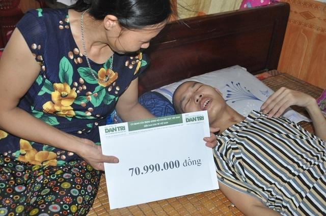Hạnh phúc vỡ òa của chàng trai trẻ bị viêm não được cứu sống nhờ bạn đọc Dân trí - 9