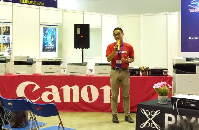 Canon ra mắt dòng máy in phun đa năng khổ A3 đầu tiên tại Việt Nam - 1
