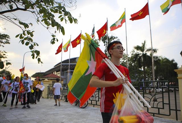 Người dân Phú Thọ phấn khích trước trận giao hữu U23 Việt Nam - U23 Myanmar - 5