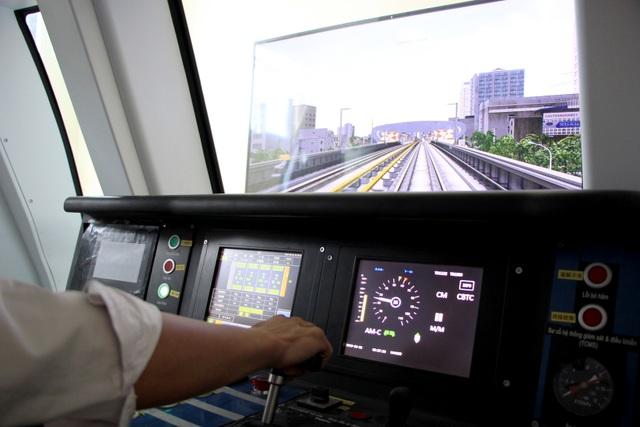 Lái tàu Cát Linh - Hà Đông trên mô hình để tập xử lý sự cố - 7