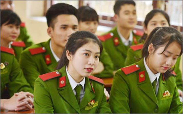 Điểm mới kỳ thi tuyển sinh vào các trường ĐH khối Công an nhân dân - 1
