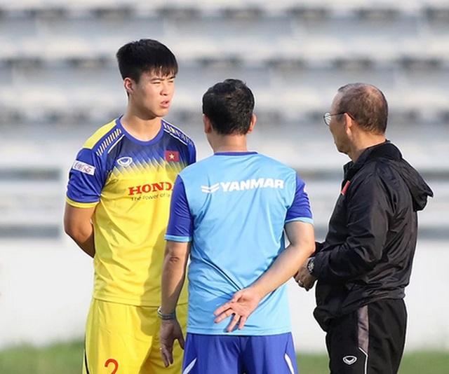 HLV Park Hang Seo chấn chỉnh hàng thủ trước trận gặp Curacao - 3