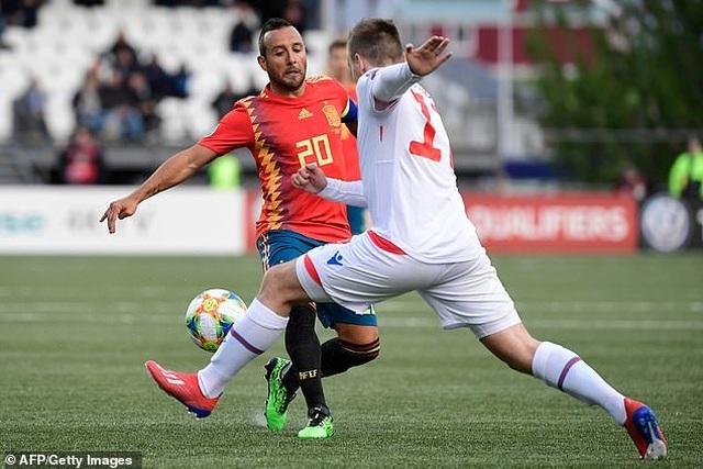 Tây Ban Nha duy trì mạch toàn thắng ở vòng loại Euro 2020 - 2