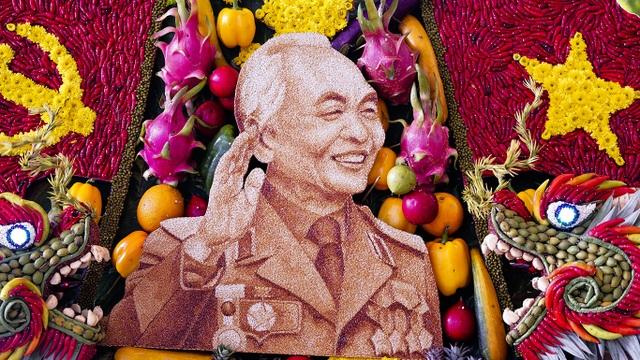 Chiêm ngưỡng những bức tranh trái cây khổng lồ - 15