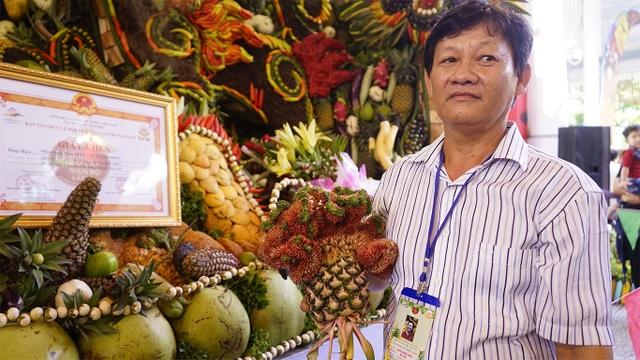 Chiêm ngưỡng những bức tranh trái cây khổng lồ - 3