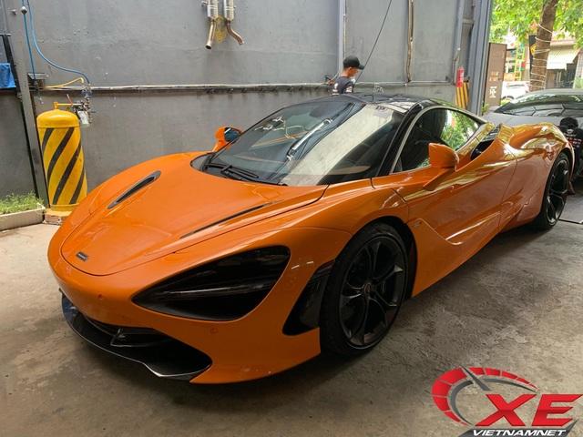 Cường đô-la cấp tập ra biển cho McLaren 720S 24 tỷ mới tậu - 2