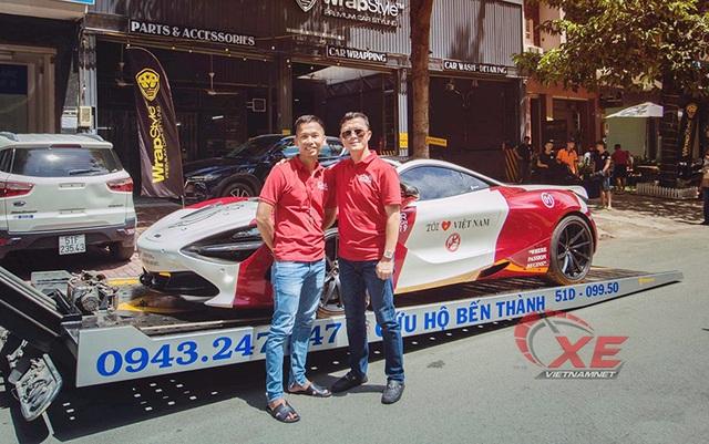 Gian nan rước siêu xe triệu đô McLaren 720S về Việt Nam - 5