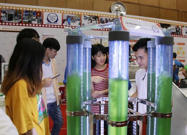 """Ấn tượng """"máy tảo"""" lọc khí trong nhà của 5 chàng SV Bách khoa - 2"""