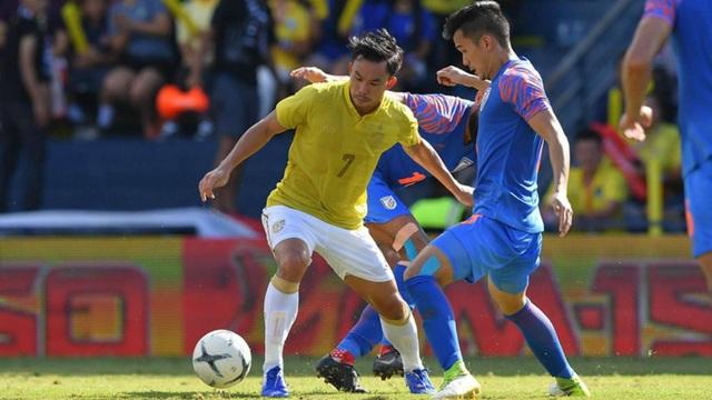 Vượt qua Thái Lan, Ấn Độ giành hạng 3 tại King's Cup - 2