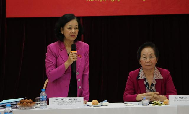 Trưởng Ban Dân vận Trung ương làm việc với Hội Khuyến học Việt Nam - 2