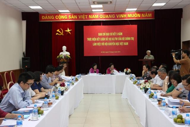 Trưởng Ban Dân vận Trung ương làm việc với Hội Khuyến học Việt Nam - 3