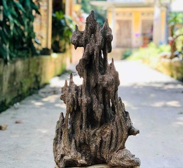 Lặn lội hơn 20 năm, đại gia Hà thành tốn hàng đống tiền để có bộ sưu tập từ gỗ trầm lũa - 13