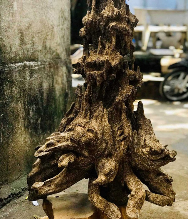 Lặn lội hơn 20 năm, đại gia Hà thành tốn hàng đống tiền để có bộ sưu tập từ gỗ trầm lũa - 2