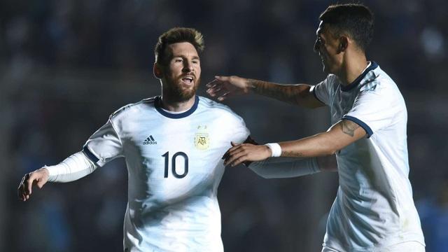 Lionel Messi lập cú đúp, Argentina thắng dễ Nicaragua 5-1 - 2