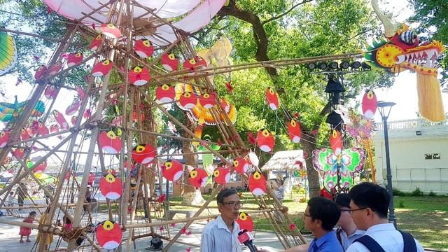 Nhiều sắc màu vui tươi tại lễ hội diều Huế 2019 - 11