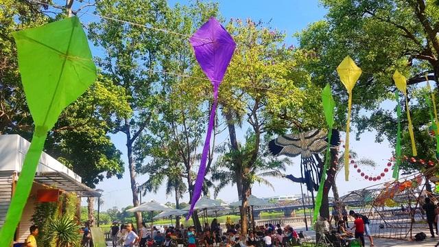 Nhiều sắc màu vui tươi tại lễ hội diều Huế 2019 - 7