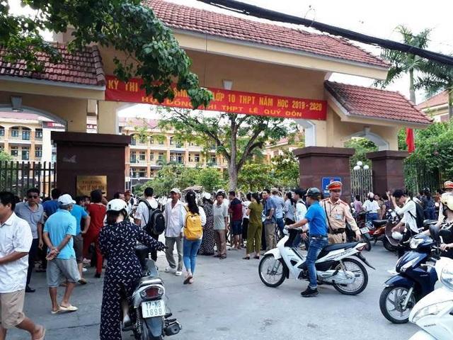 Thái Bình: Gần 18 nghìn thí sinh thi tuyển sinh vào lớp 10 công lập THPT - 1