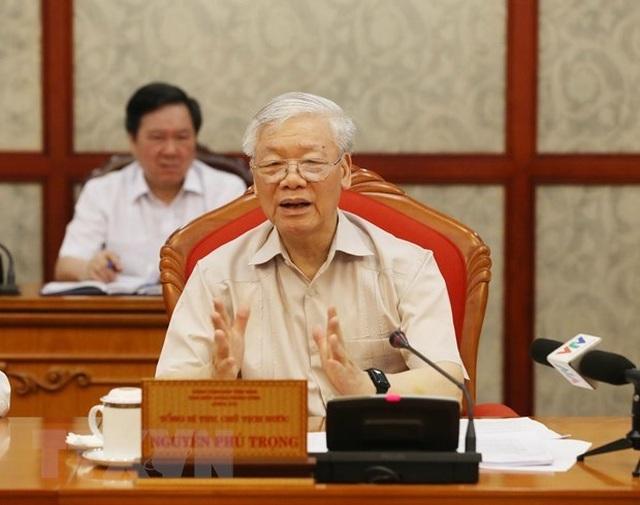 """Tổng Bí thư: """"Việt Nam là đối tác tin cậy vì hòa bình bền vững"""" - 1"""