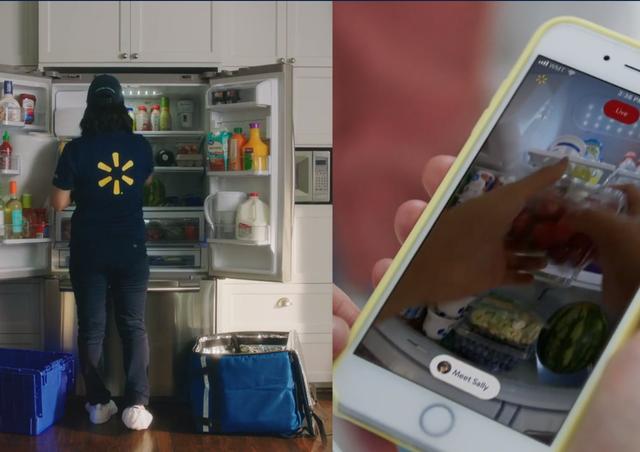 Chuyện lạ có thật: Dịch vụ ship đồ ăn từ siêu thị đến tận ... tủ lạnh - 2