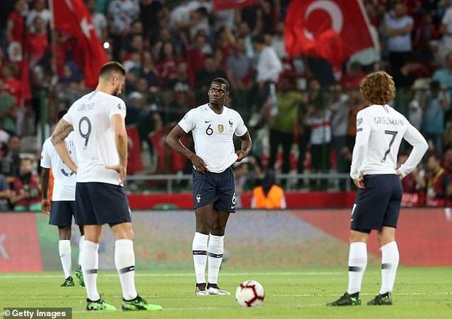 Thổ Nhĩ Kì 2-0 Pháp: Trái đắng cho thầy trò Deschamps - 1