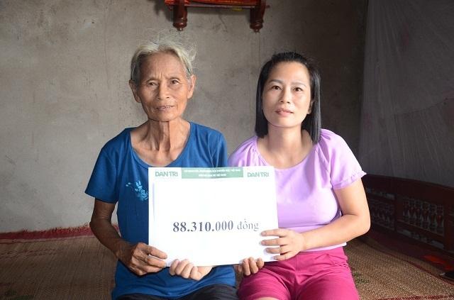 Bạn đọc Dân trí vượt trăm cây số giúp đỡ người đàn bà sống chung xương sống với con trai - 5