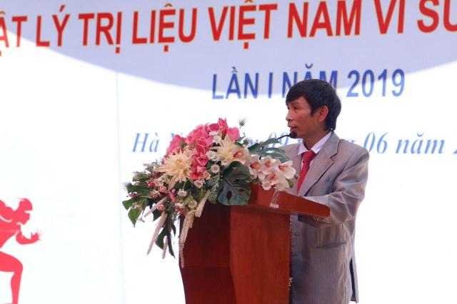 """Phát động giải chạy """"Ngành Vật lý trị liệu Việt Nam vì sức khỏe cộng đồng"""" - 1"""
