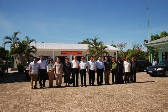 Bàn giao nhà làm việc Bộ Ngoại giao tại Di tích trụ sở Chính phủ cách mạng lâm thời Cộng hòa miền Nam Việt Nam - 1