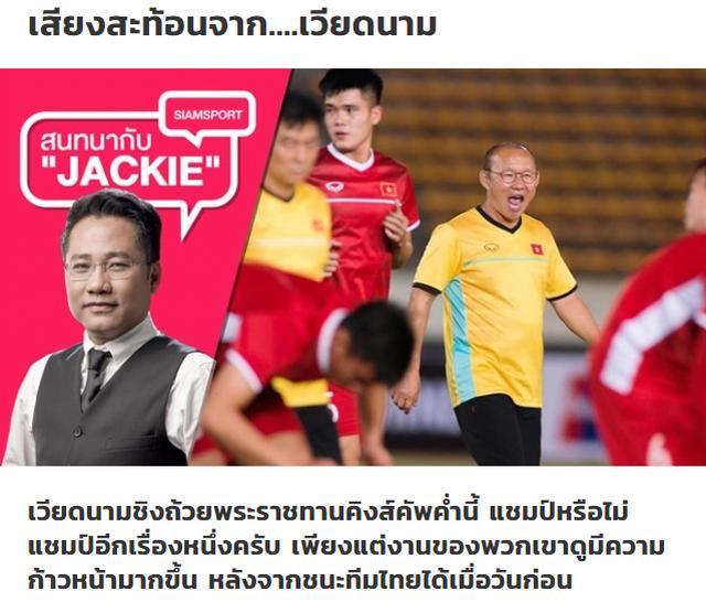 Báo Thái Lan ngả mũ, thừa nhận đội tuyển Việt Nam số 1 Đông Nam Á - 1