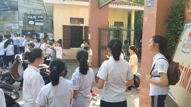 Nam Định công bố điểm thi vào lớp 10 THPT - 2