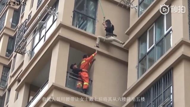 Cô gái liều lĩnh trèo từ tầng 6 chung cư ra ngoài để thoát khỏi bạn trai - 3