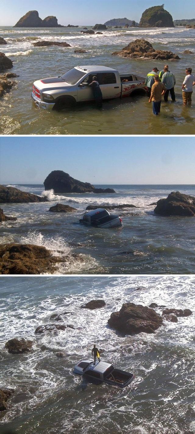 """Những hình ảnh siêu hài hước vô tình """"chộp"""" được trên bãi biển - 15"""