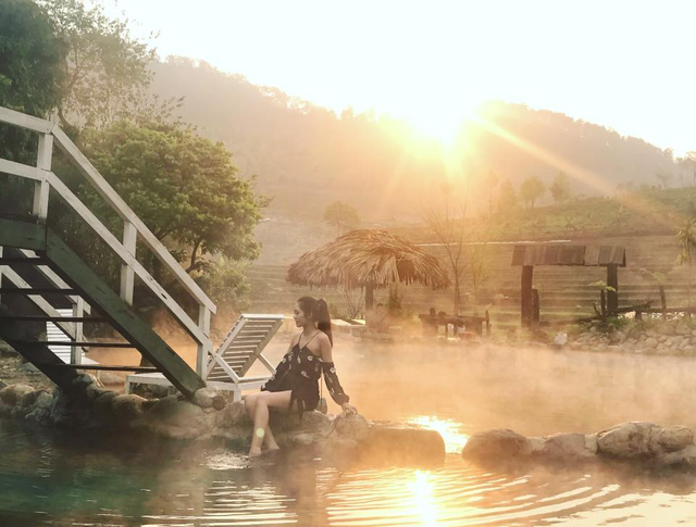 """Check-in suối khoáng đẹp như tiên cảnh """"gây sốt"""" ở Yên Bái - 6"""
