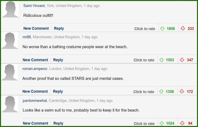 Độc giả phương Tây tiếp tục phản ứng về phục trang của Ngọc Trinh ở Cannes - 3