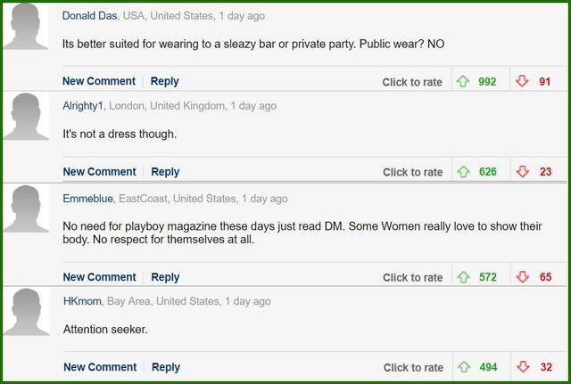 Độc giả phương Tây tiếp tục phản ứng về phục trang của Ngọc Trinh ở Cannes - 4