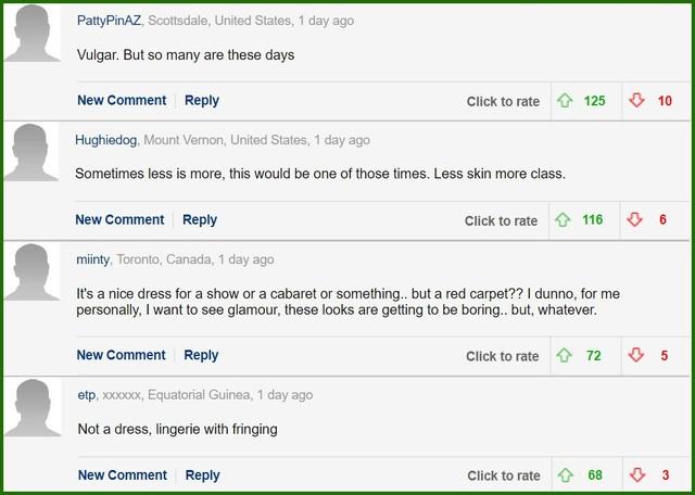 Độc giả phương Tây tiếp tục phản ứng về phục trang của Ngọc Trinh ở Cannes - 6