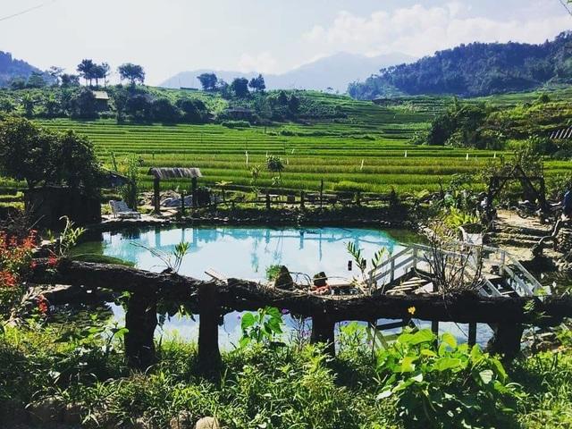 """Check-in suối khoáng đẹp như tiên cảnh """"gây sốt"""" ở Yên Bái - 4"""