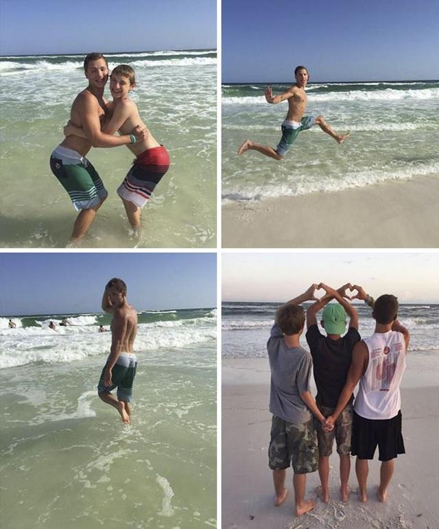 """Những hình ảnh siêu hài hước vô tình """"chộp"""" được trên bãi biển - 6"""