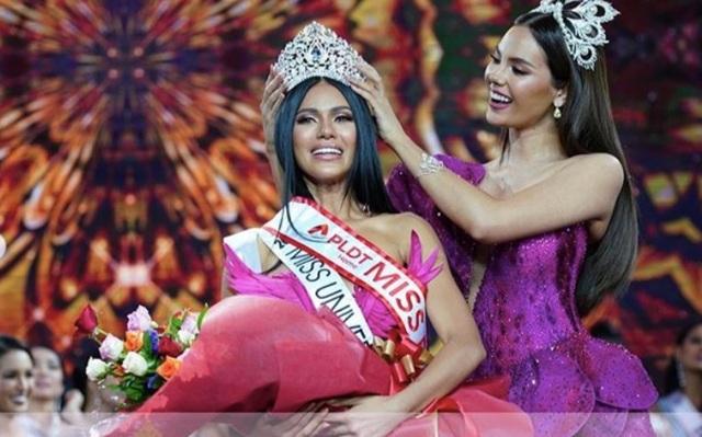 Nhan sắc bốc lửa của tân hoa hậu Philippines - 1