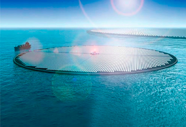 """Ý tưởng """"Đảo Mặt Trời"""" khổng lồ có thể biến nước biển thành… xăng! - 2"""
