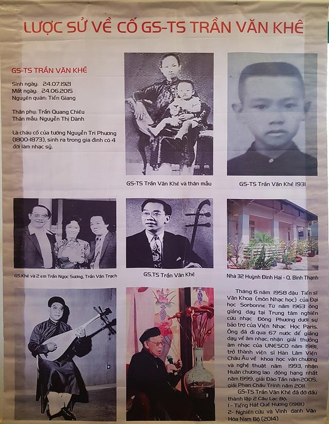Giản dị và ấm cúng Lễ tưởng niệm 4 năm ngày mất GS.TS Trần Văn Khê - 3